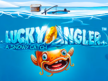 Игровой слот Lucky Angler – A Snowy Catch